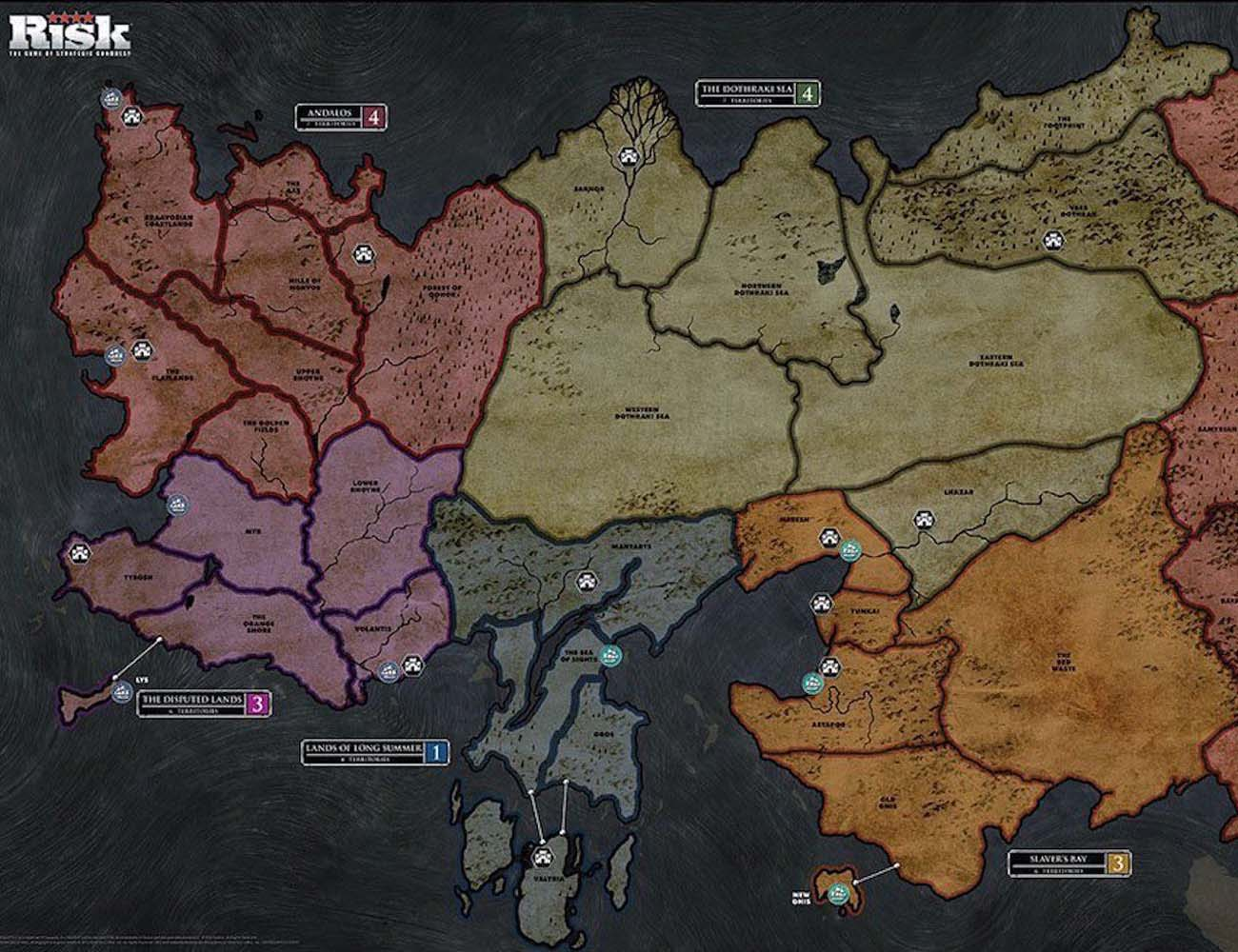 Risk – Game of Thrones Board Game
