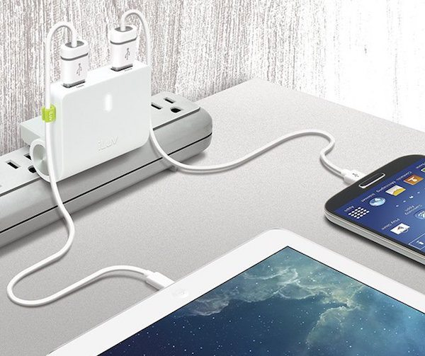 RockWall+Dual+USB+Wall+Charger+By+ILuv