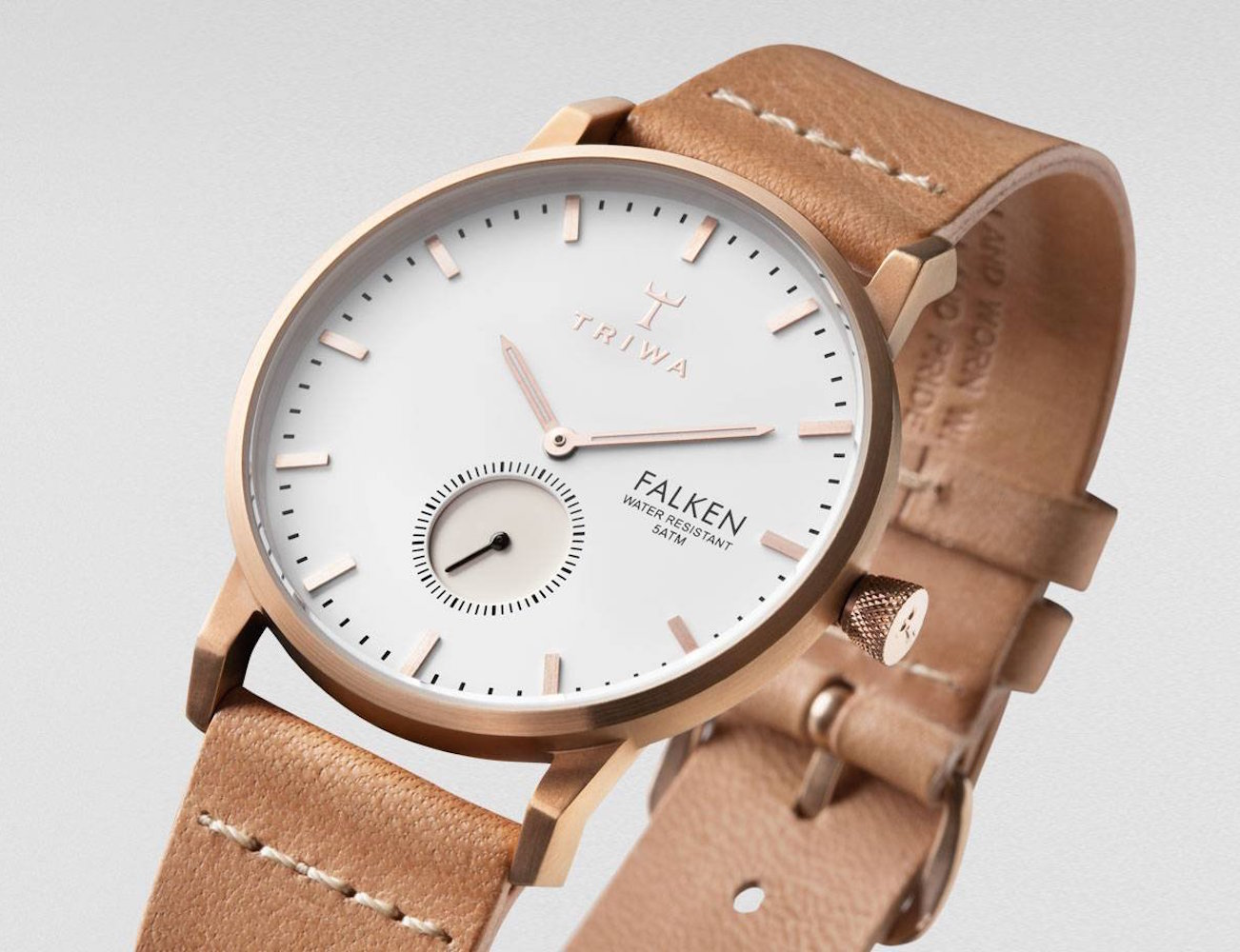 Rose Falken Watch by TRIWA