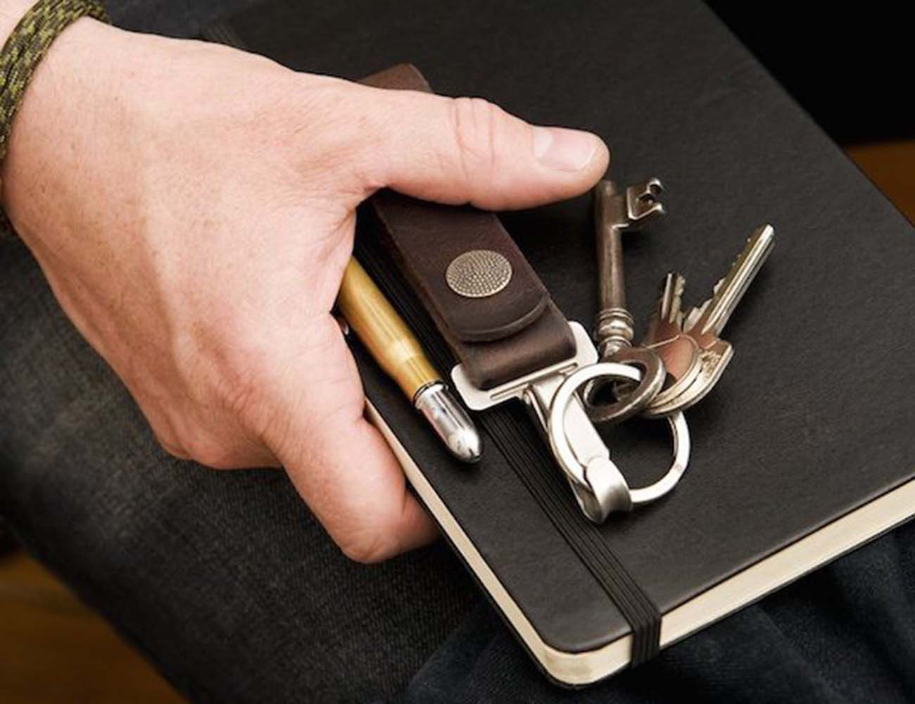 Rugged Belt Loop Keychain by 877 Workshop