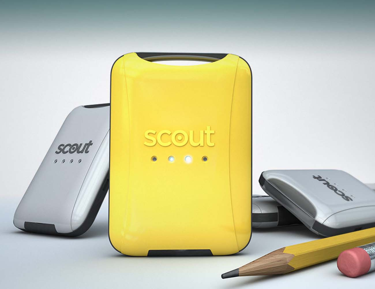 SCOUT – Smart & Mighty GPS Tracker with Bluetooth