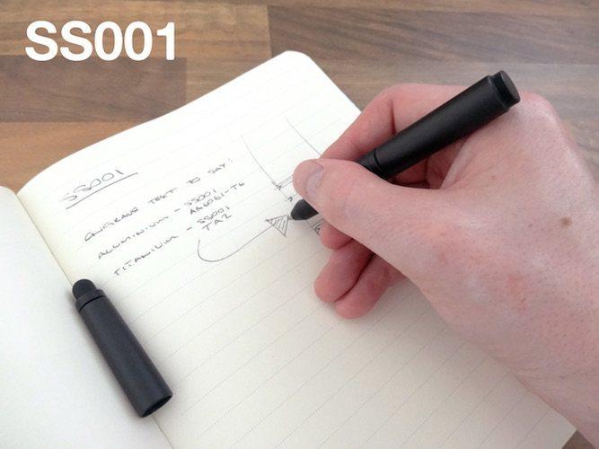 SS001 Ballpoint Pen & Stylus