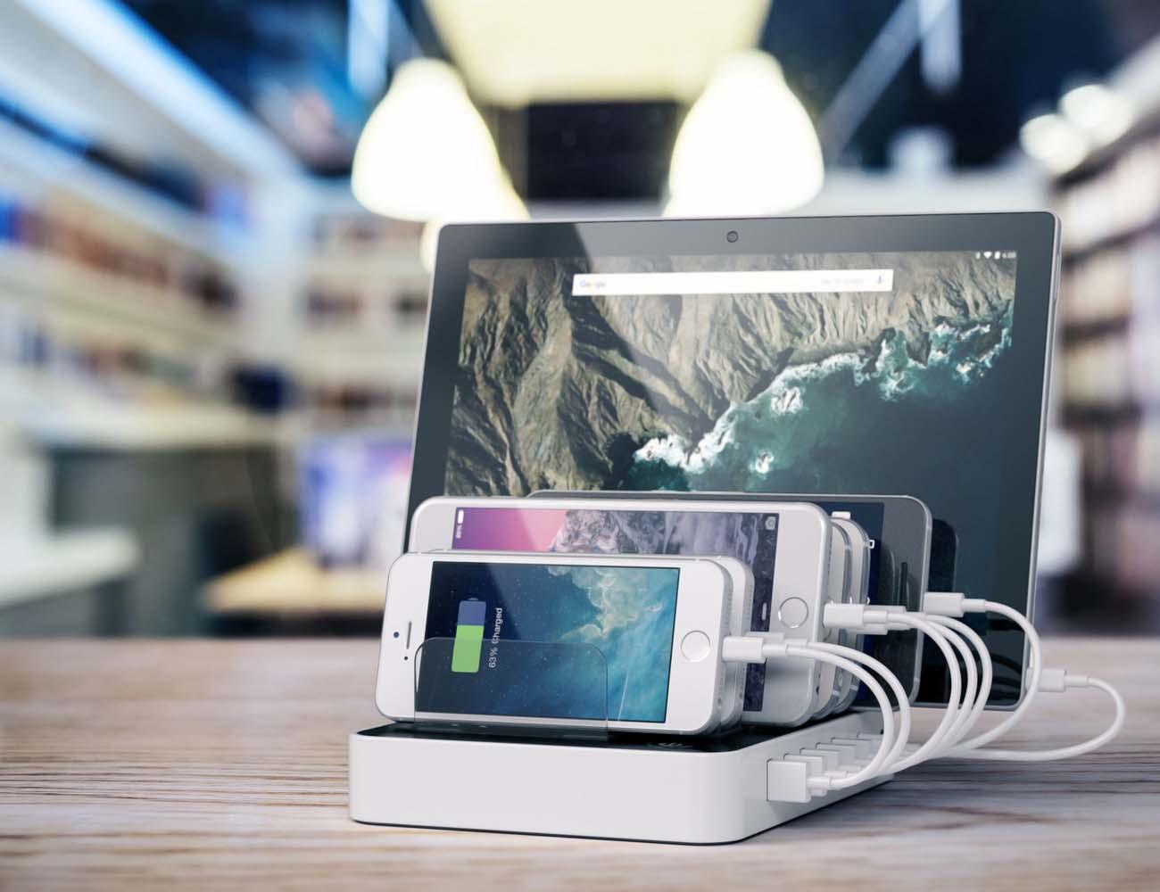 Satechi 7-Port USB Charging Station Dock