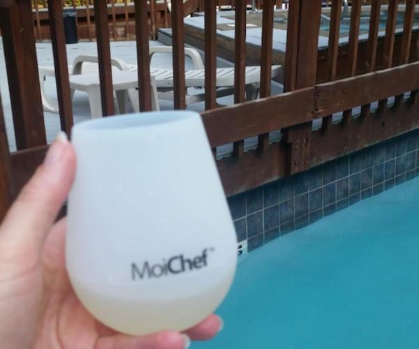 Set of 2 Silicone Wine Glasses by MoiChef
