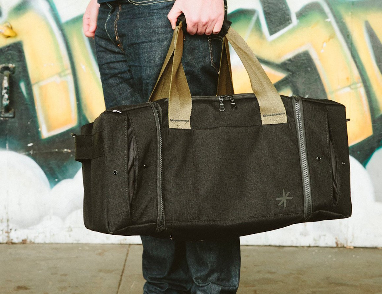 Shrine Sneaker Duffel – With Two Dedicated Sneaker Compartments