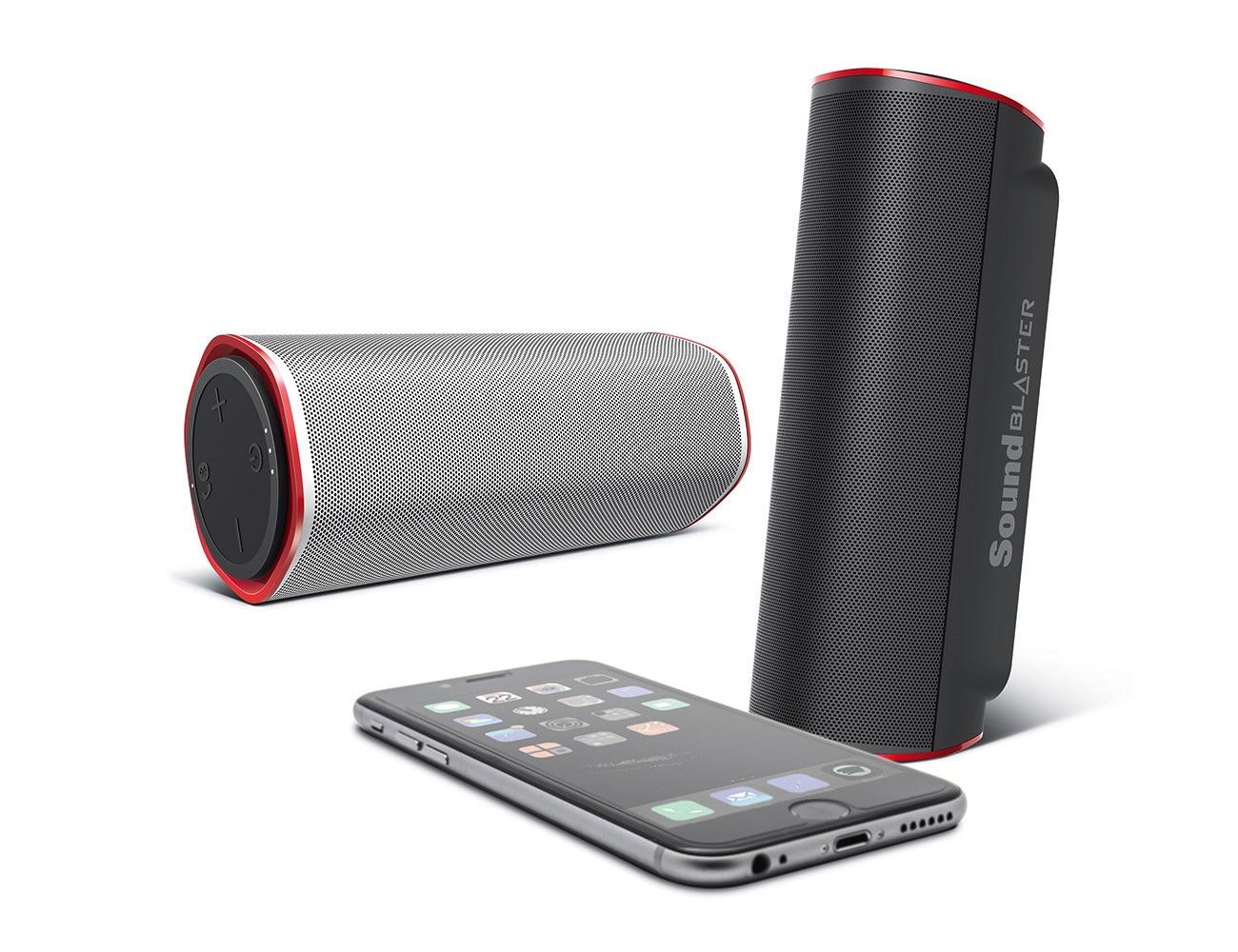 Sound Blaster FRee Splash-proof Bluetooth Portable Speaker