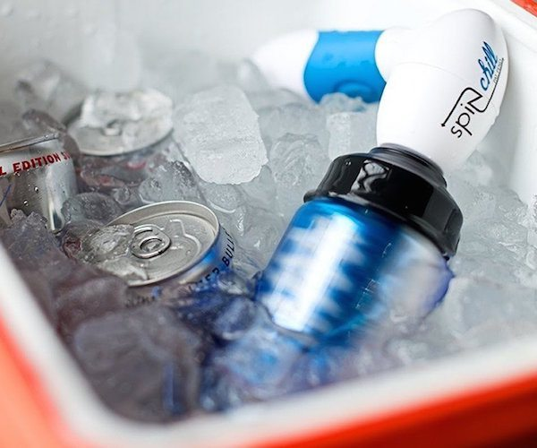 SpinChill – Portable Drink Chiller