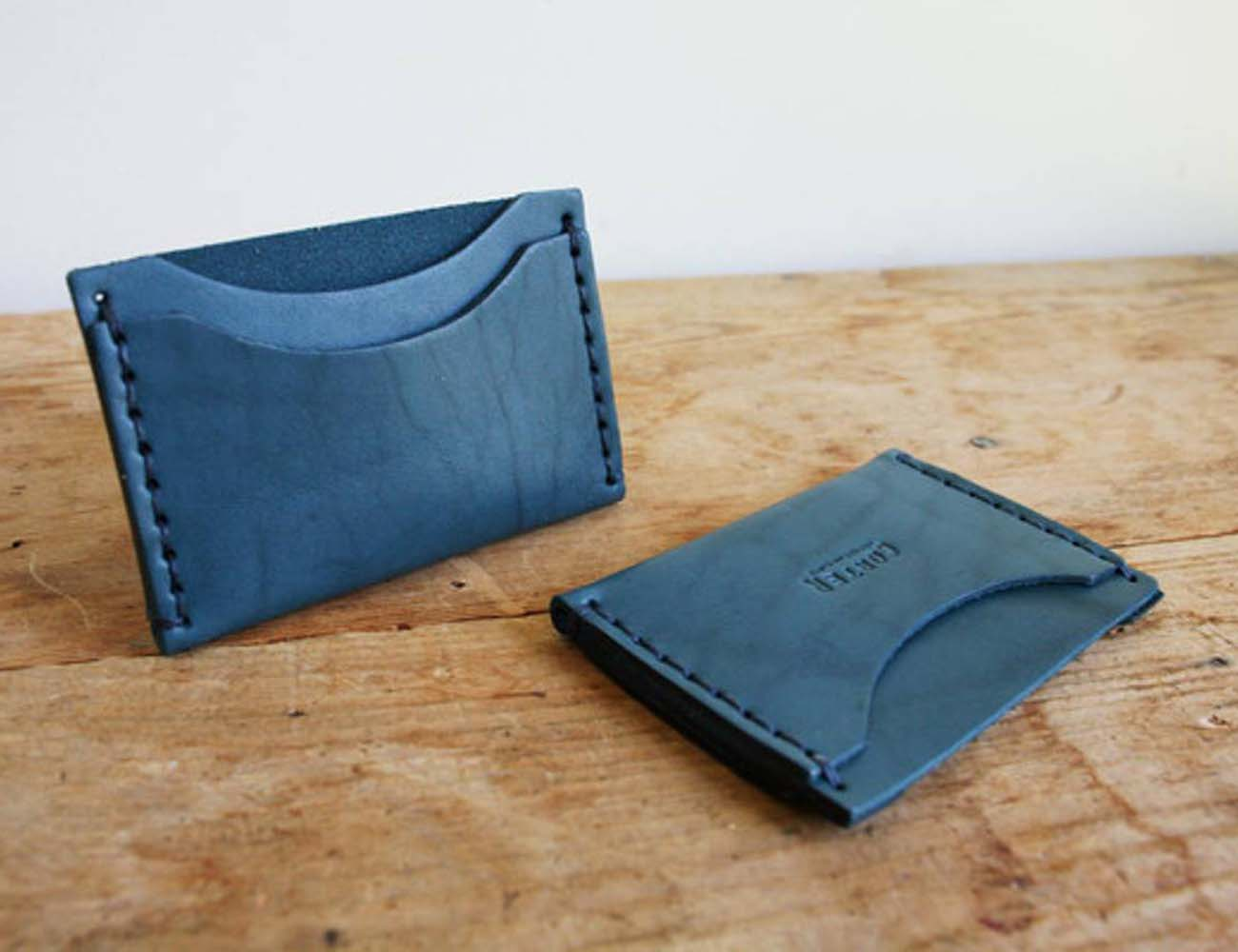 Standard Card Holder by Corter Leather
