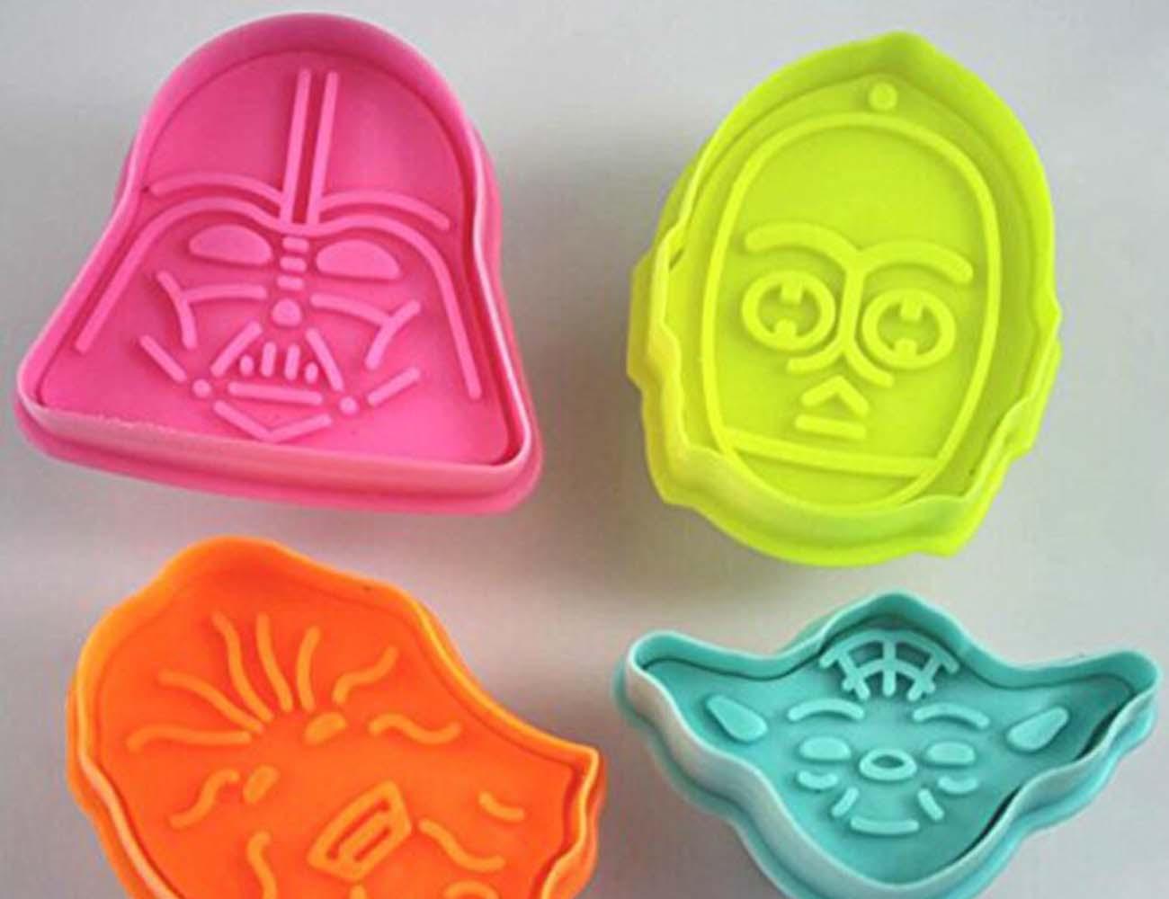 Star Wars Press Stamp Cookie Cutters