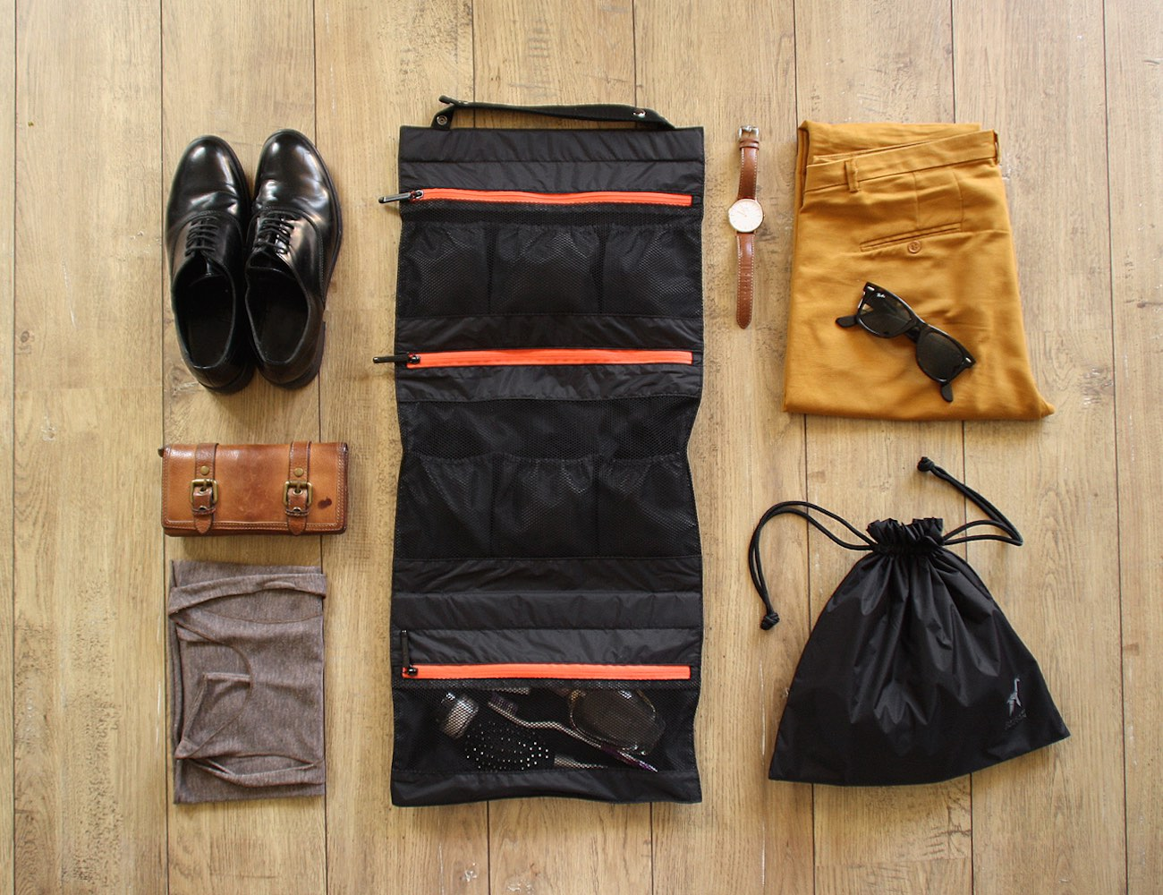 TUO: The Ultimate Travel Undergarment Organizer