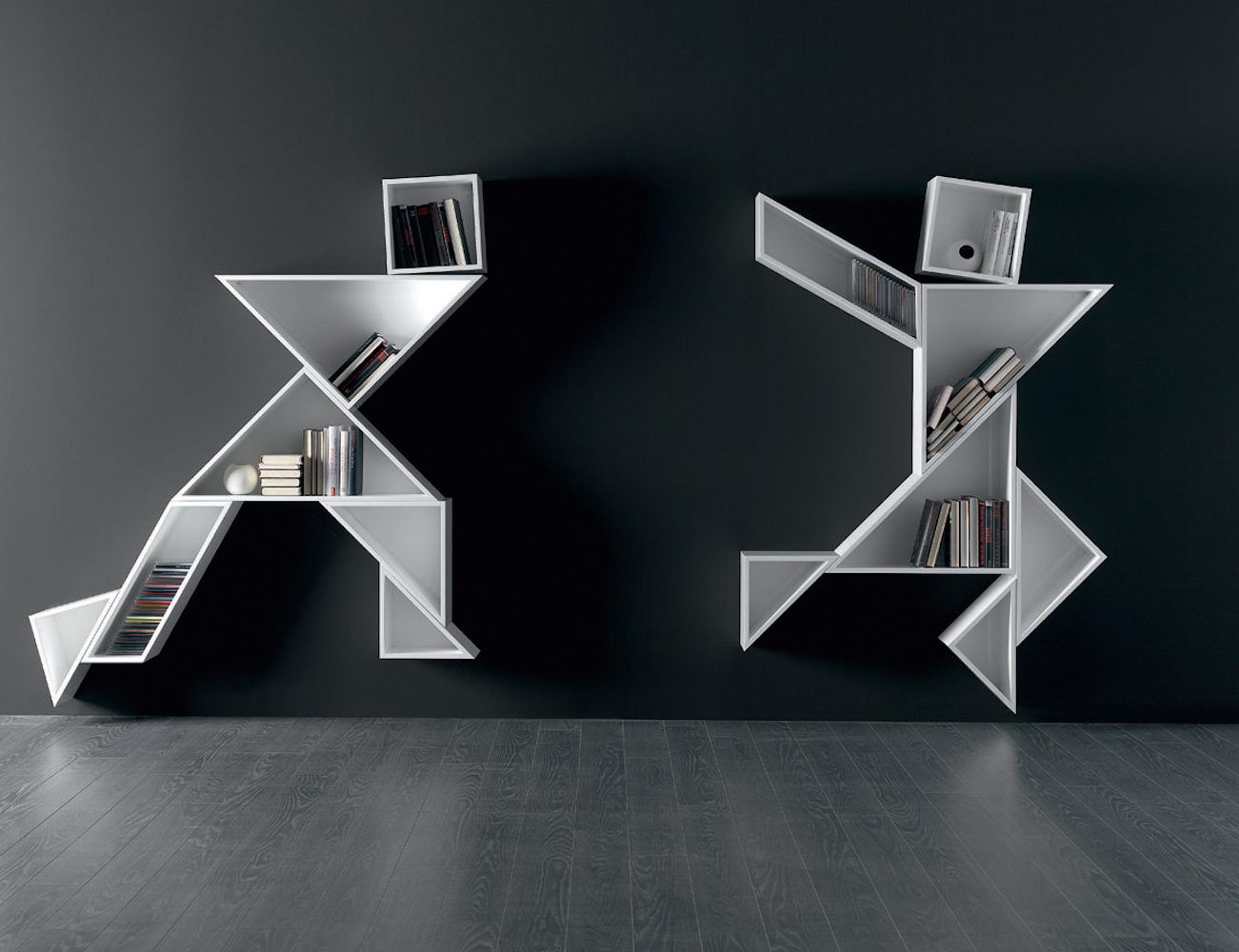 Designer Wall Stickers Tangram Shelves By Lago Italy 187 Review