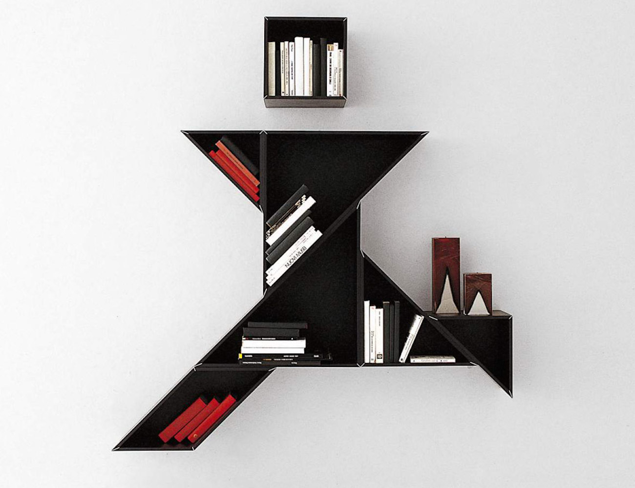 Tangram Shelves by Lago Italy