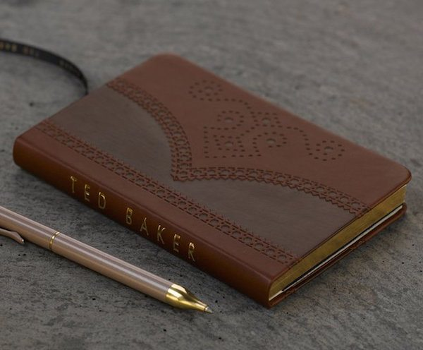 Ted Baker Brogue Notebook