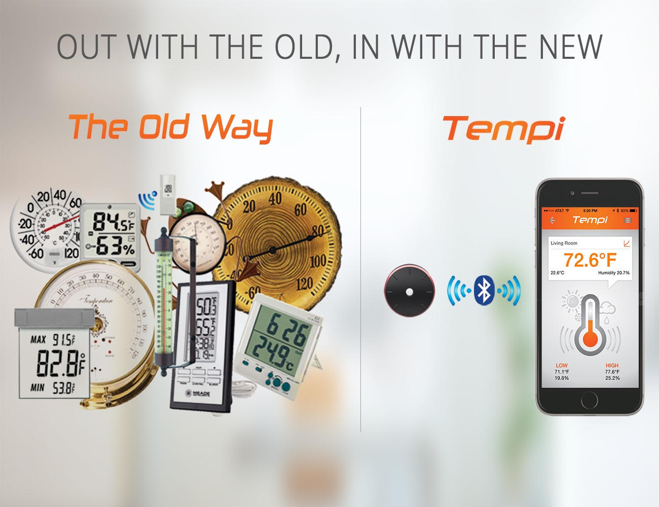 Tempi Monitor Temperature and Humidity with Your Smartphone Review  #AB6120
