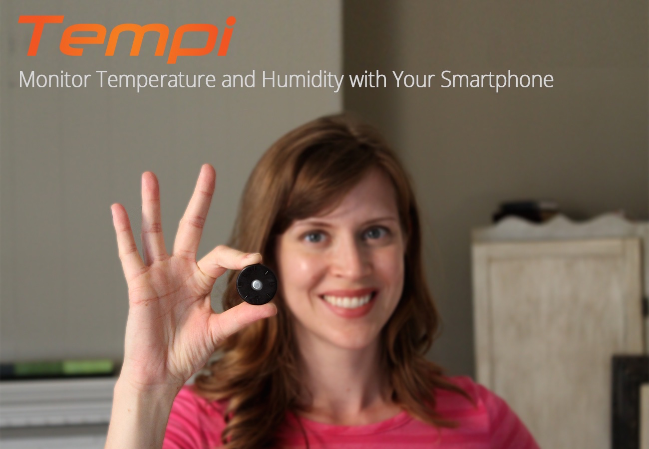 Tempi – Monitor Temperature and Humidity with Your Smartphone