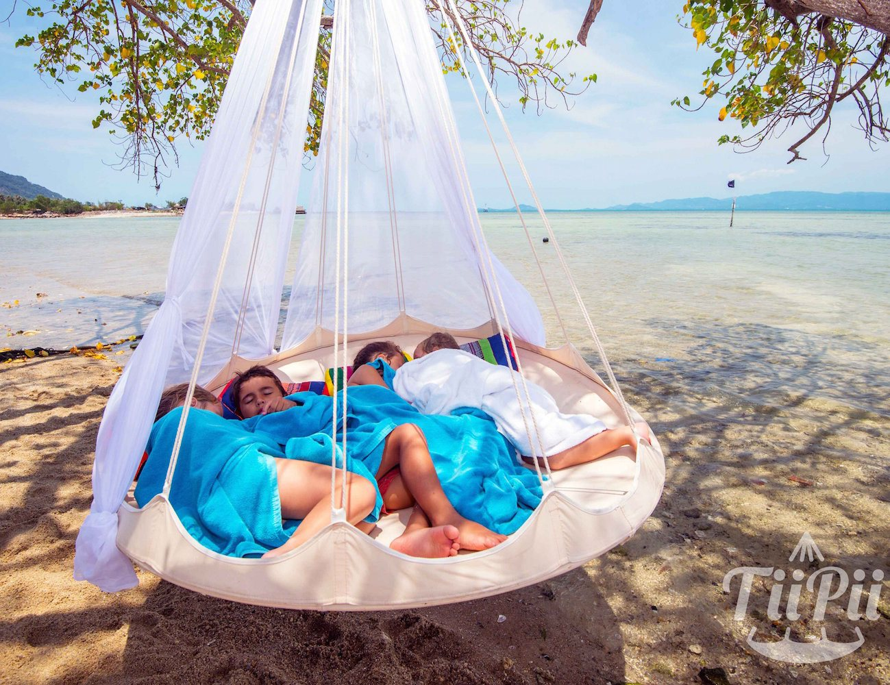 Round floating bed for Hanging round hammock