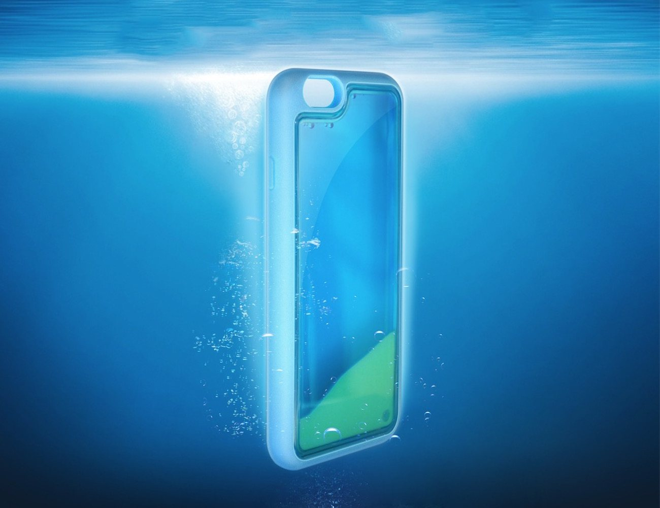 This Ultra Thin Luminous iPhone 6 Case will not just fit your phone perfectly but has been also been designed to shine in the dark.
