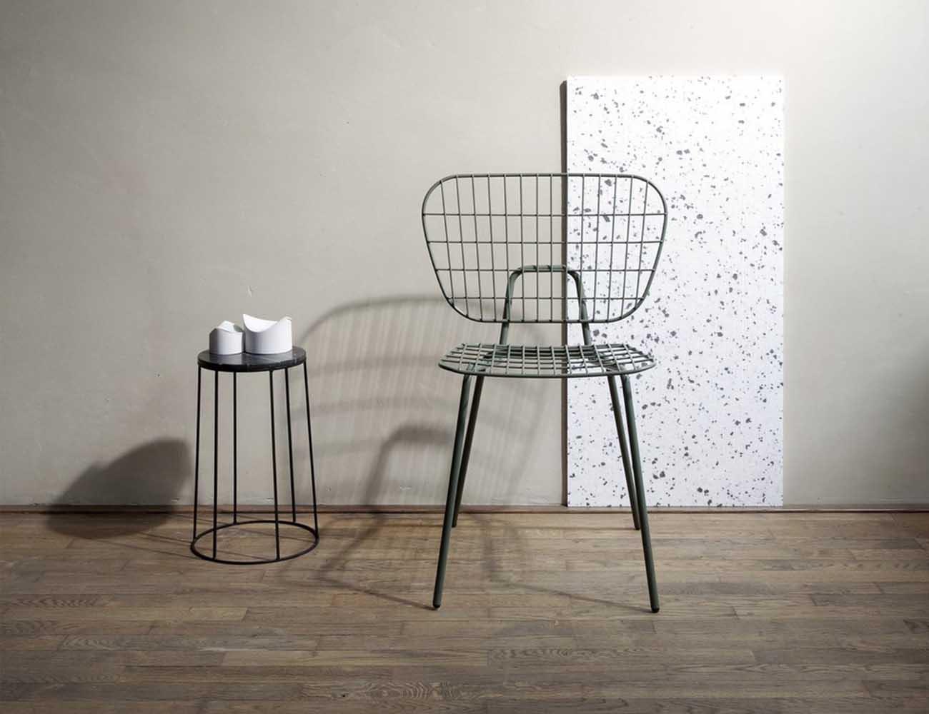 WM String Lounge Chair