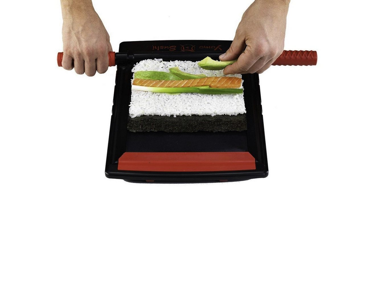 Yomo Sushi Maker – Sushi Rolling System and Roll Cutter