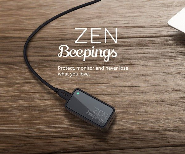 Beepings ZEN – A GPS Tracker Lasting up to 1 Year ! loading=