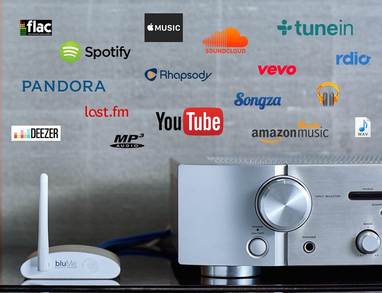 auris bluMe: True Hi-Fi Bluetooth Music Receiver