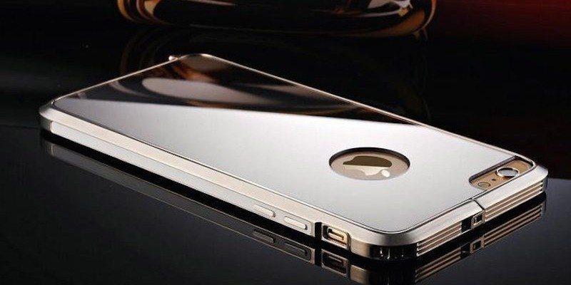 Luxury Steel iPhone 6 / 6+ Mirror Case