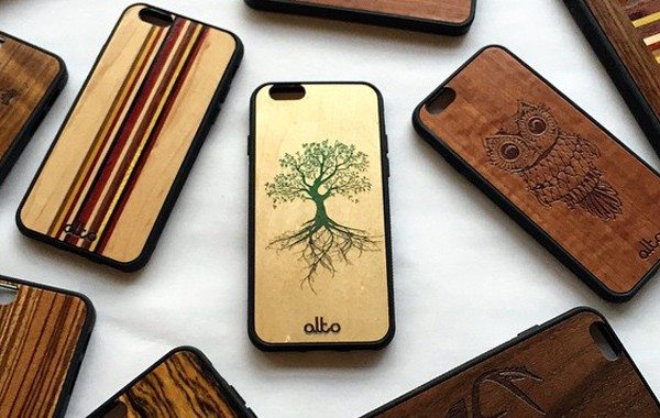 Real Wood Phone Cases Will Make a Perfect Smartphone Accessory