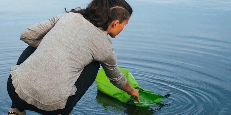 Scrubba wash bag for travelers