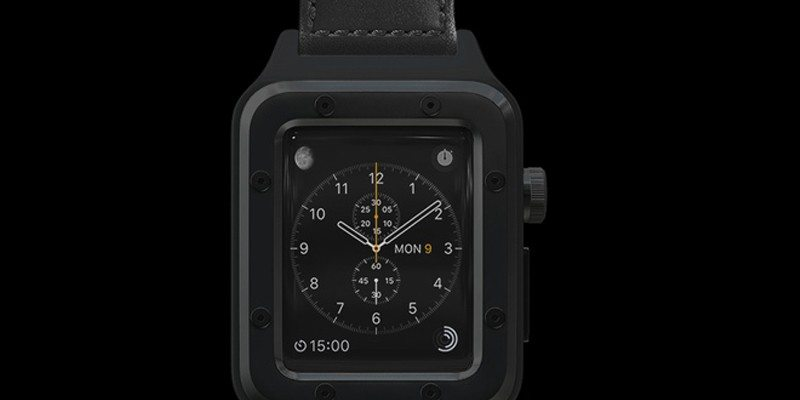 Banded Classic Case for Apple Watch