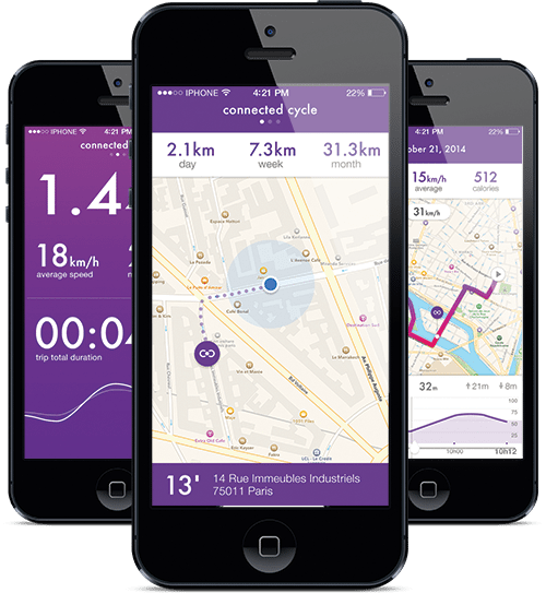 Connected Cycle app