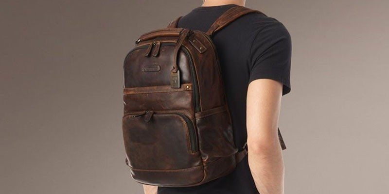 Men's Logan Antique Pull Up Backpack