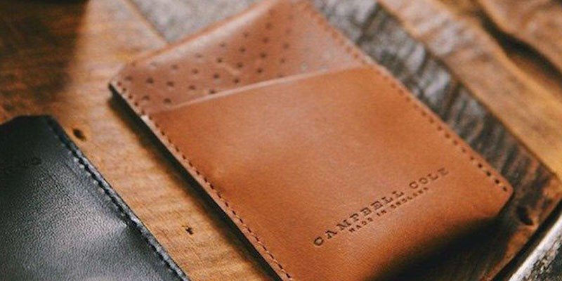 Simple Card Holder by Campbell Cole