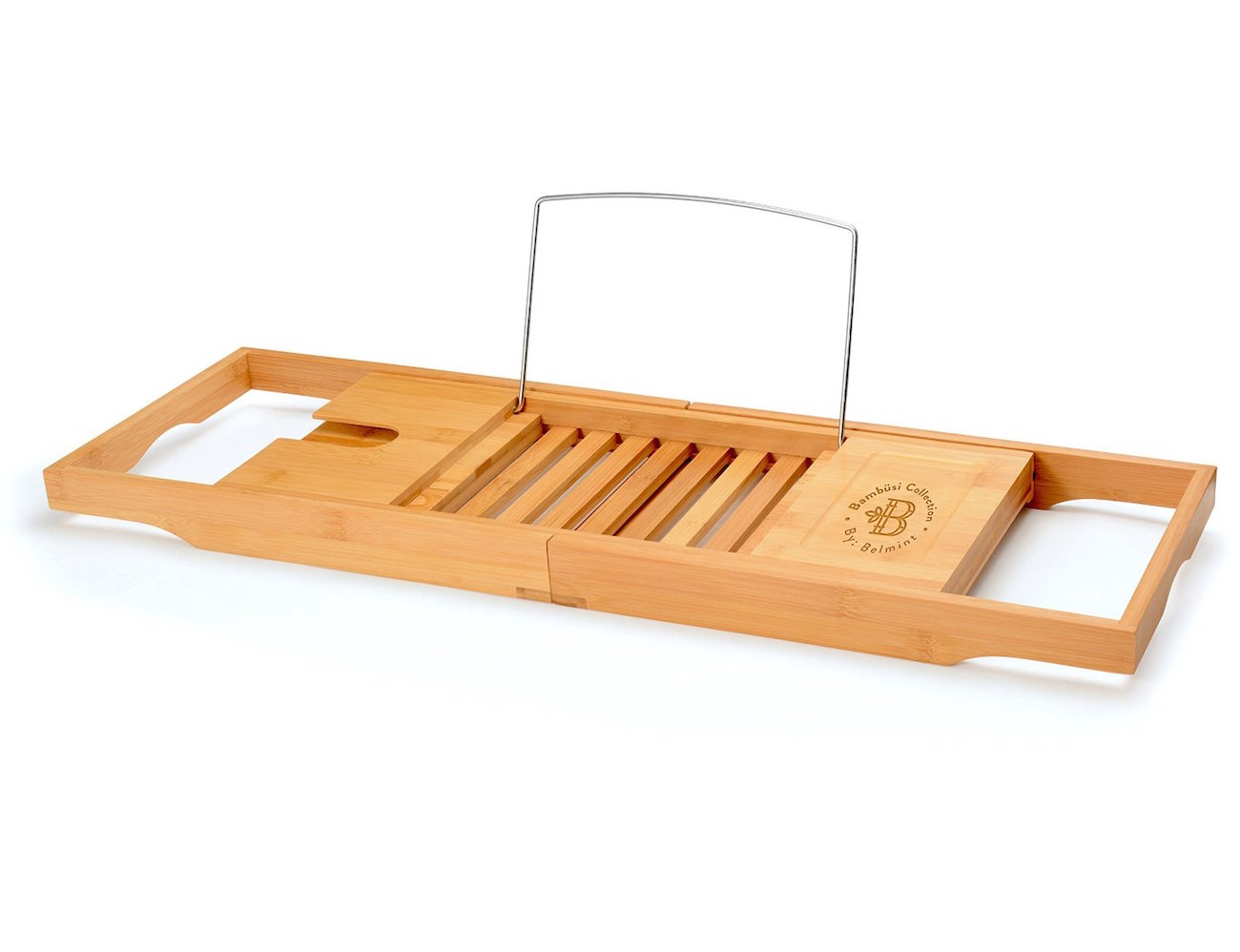 Bamboo Bathtub Caddy From Bambüsi By Belmint