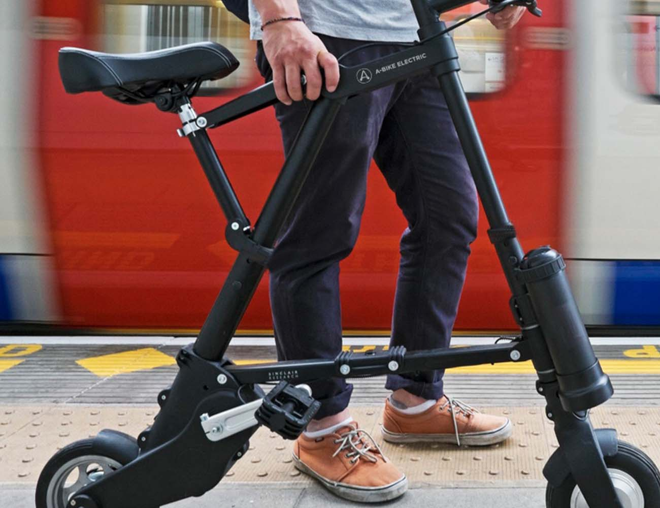 A-Bike Electric: The Lightest And Most Compact Electric Bike