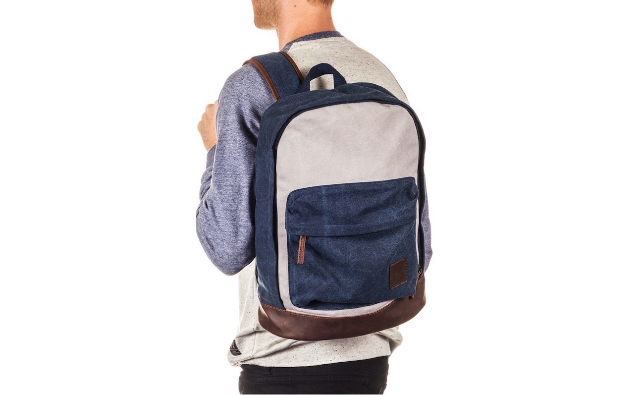 Blue Blake Backpack by PX Clothing – Stylish Everyday Carry for Gentlemen