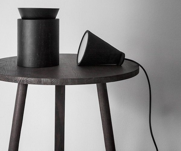 Bollard Black Lamp by Menu