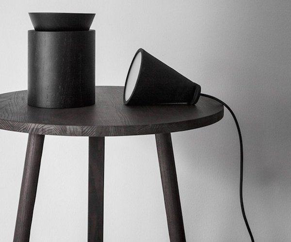 Bollard+Black+Lamp+By+Menu