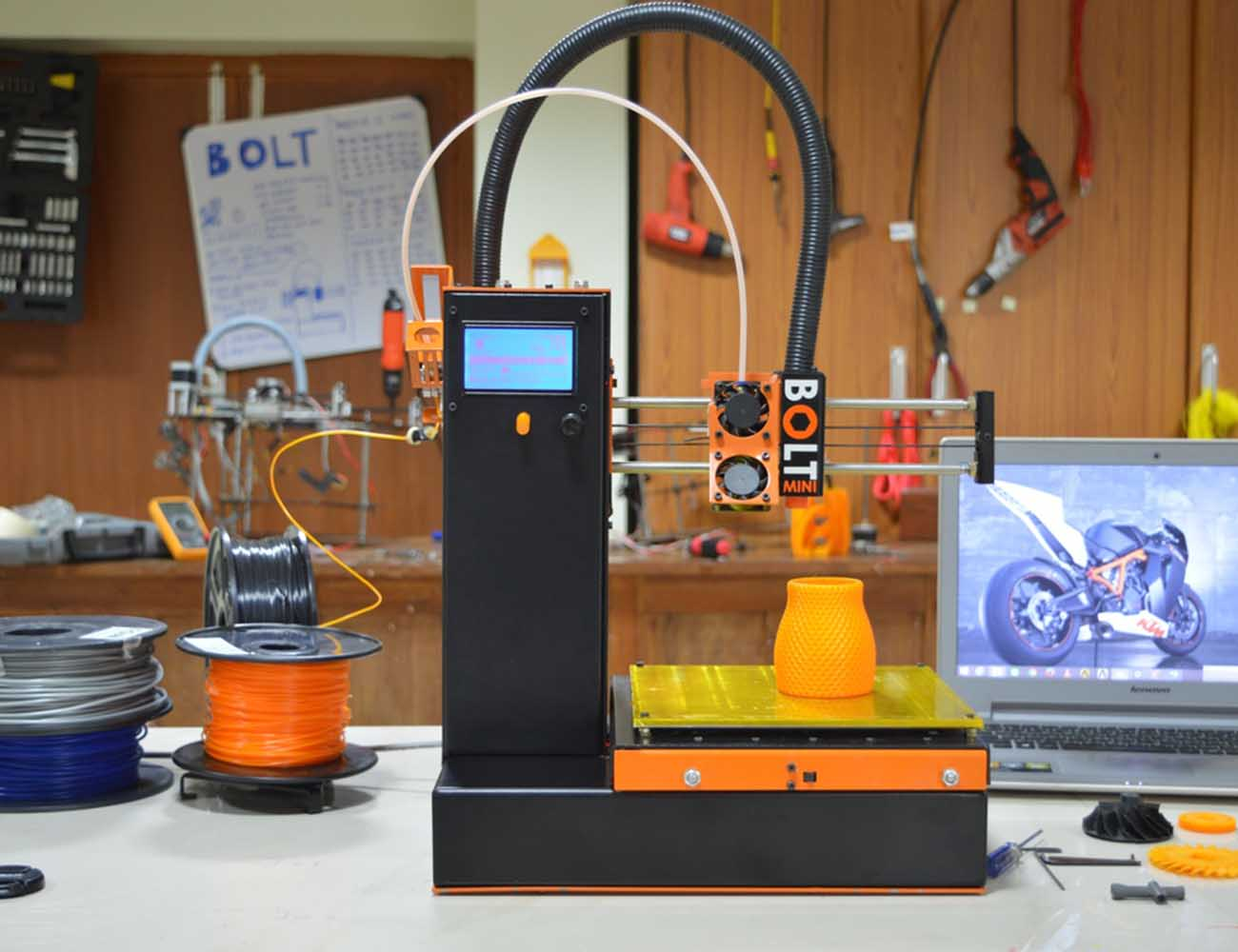 Bolt Mini – The Perfect Open Source 3D Printer