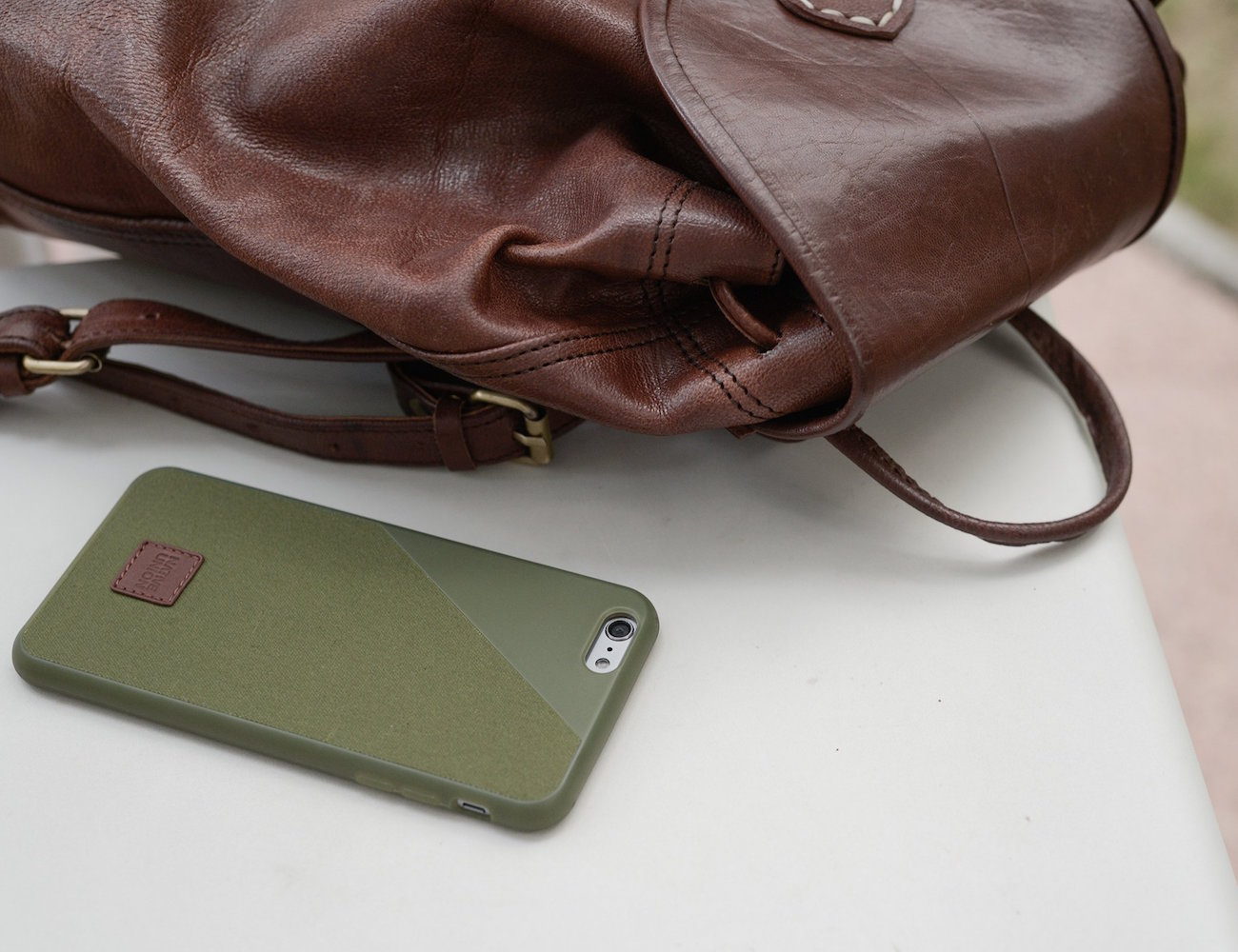 CLIC 360 British Millerain Waxed Canvas Case