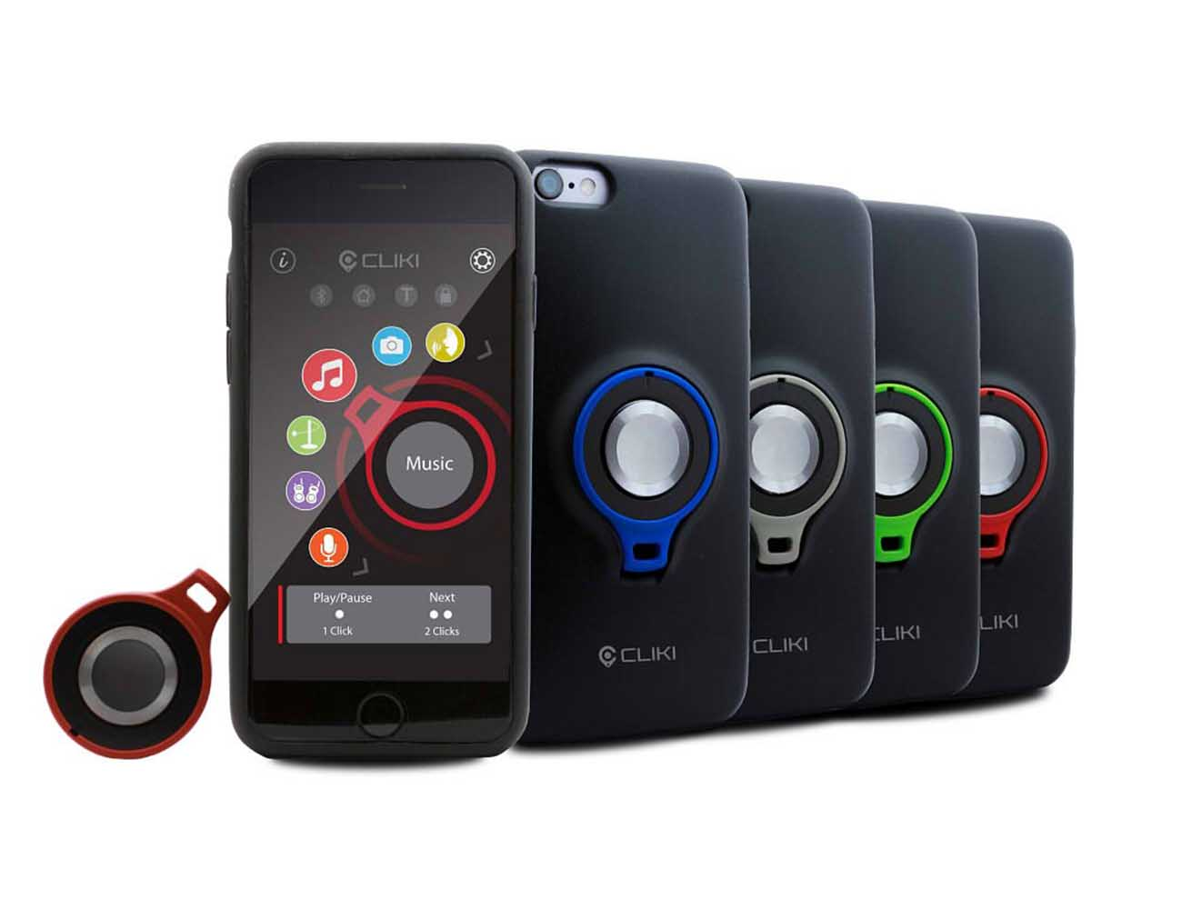 CLIKI – Removable Smart Control Button Case