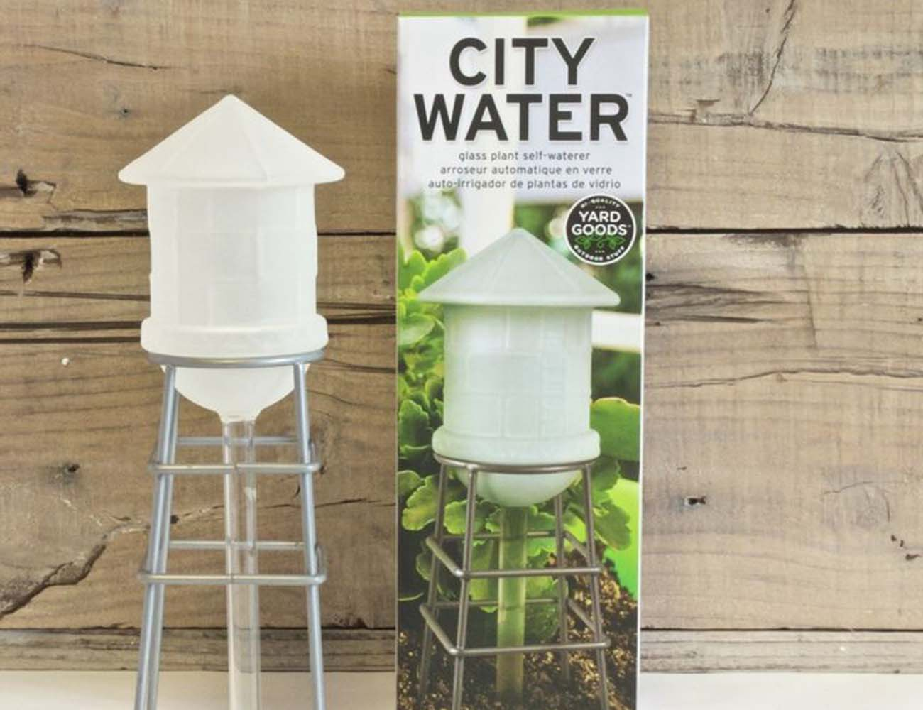 City Water – Self Waterer for Your Plants