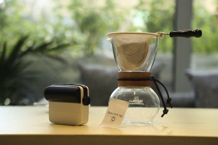droPrinter with coffee maker