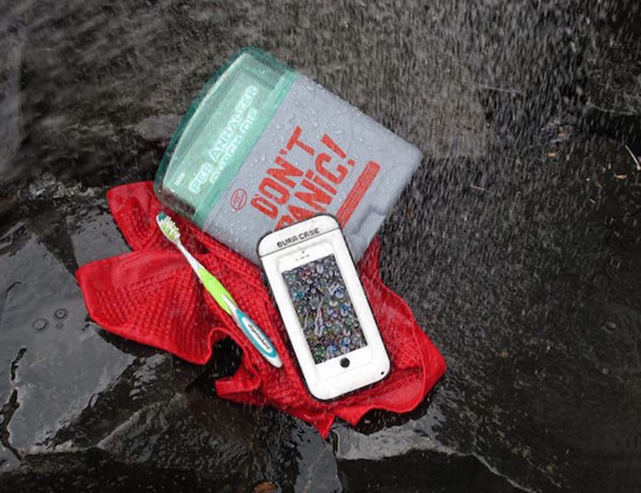 DURA CASE – 3X Battery Time In A Waterproof Outdoor Case!