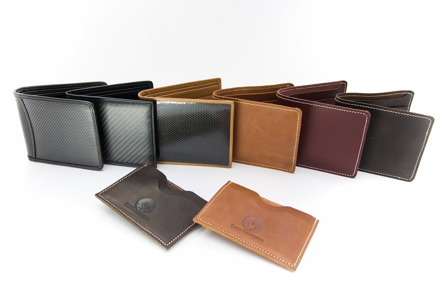 Dark Gryphon Carbon Fiber Wallets