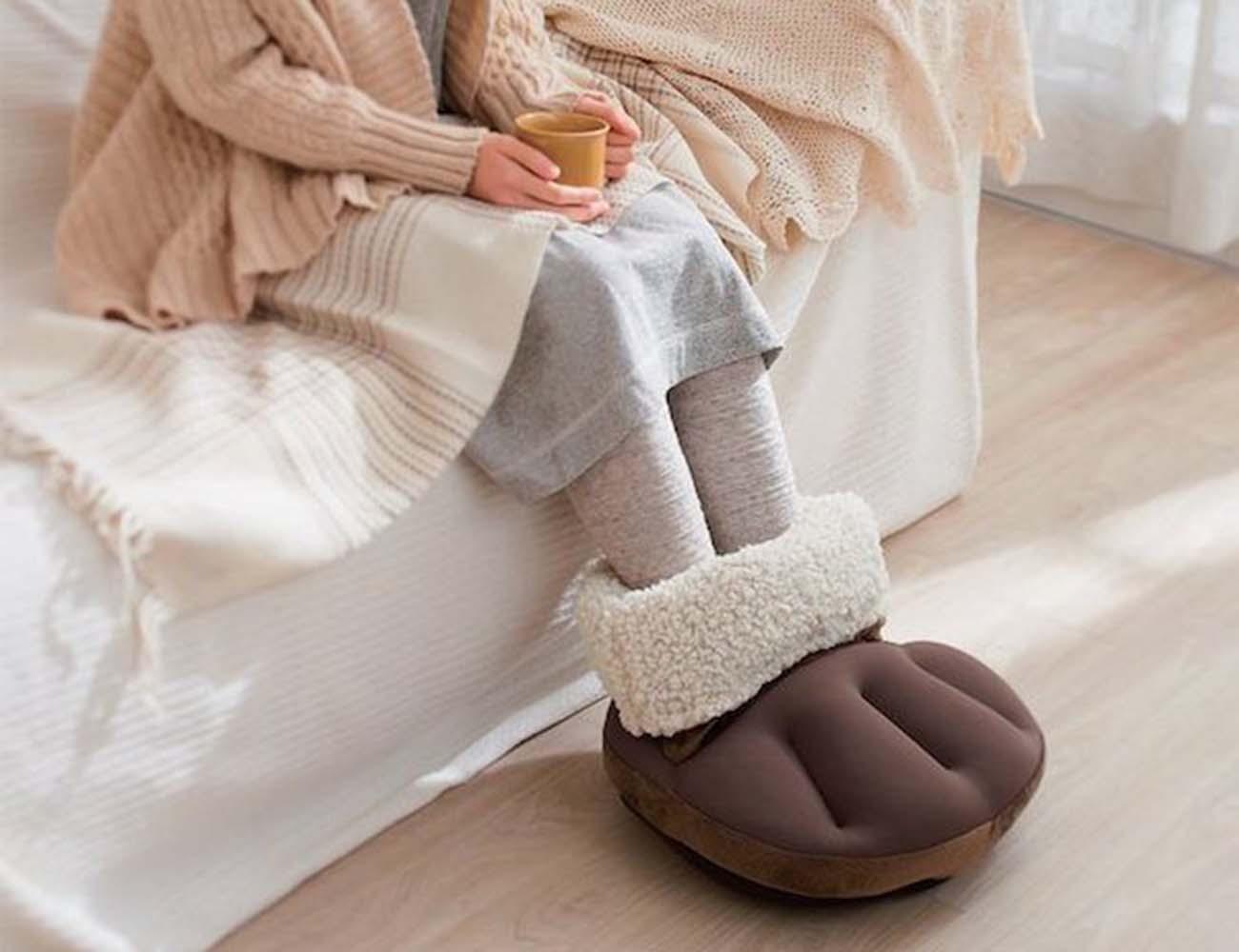 Eco Poka Feet Warmer Cushion