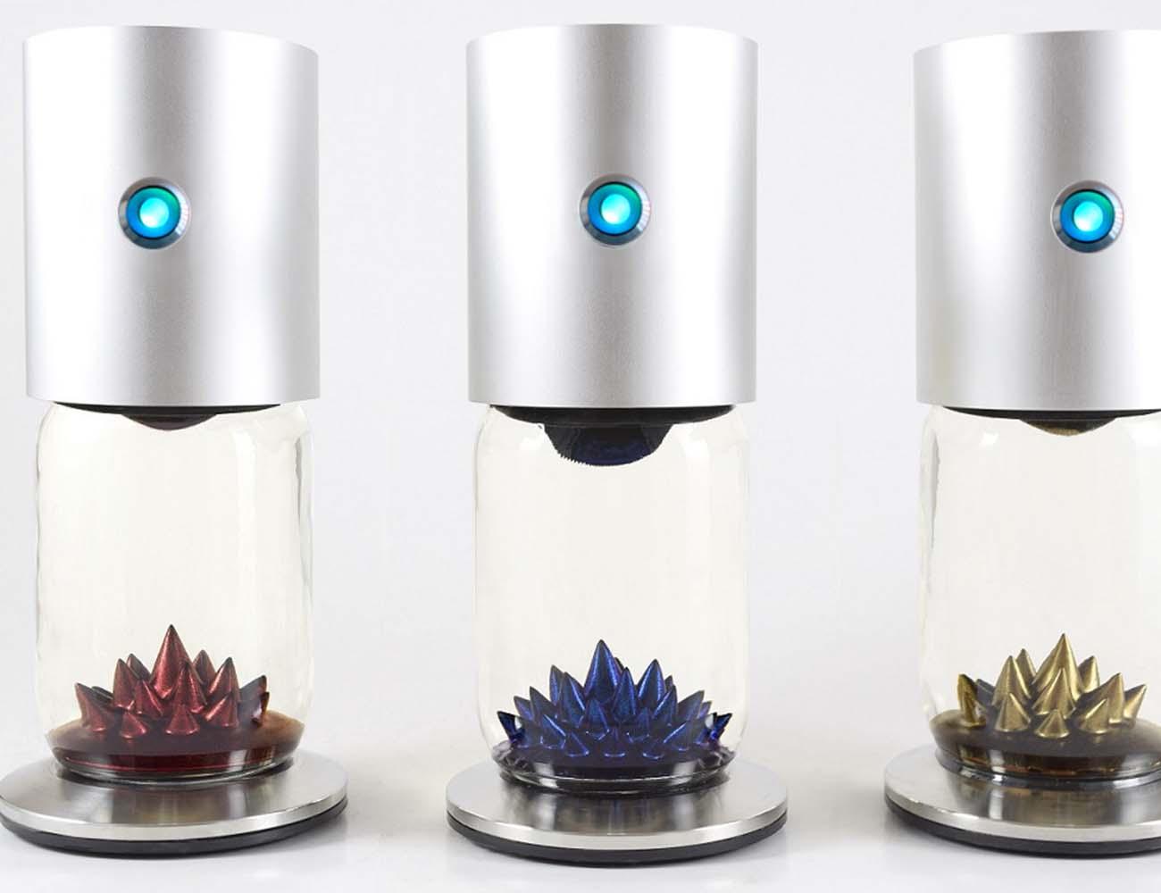 Ferroflow Interactive Ferrofluid Sculpture