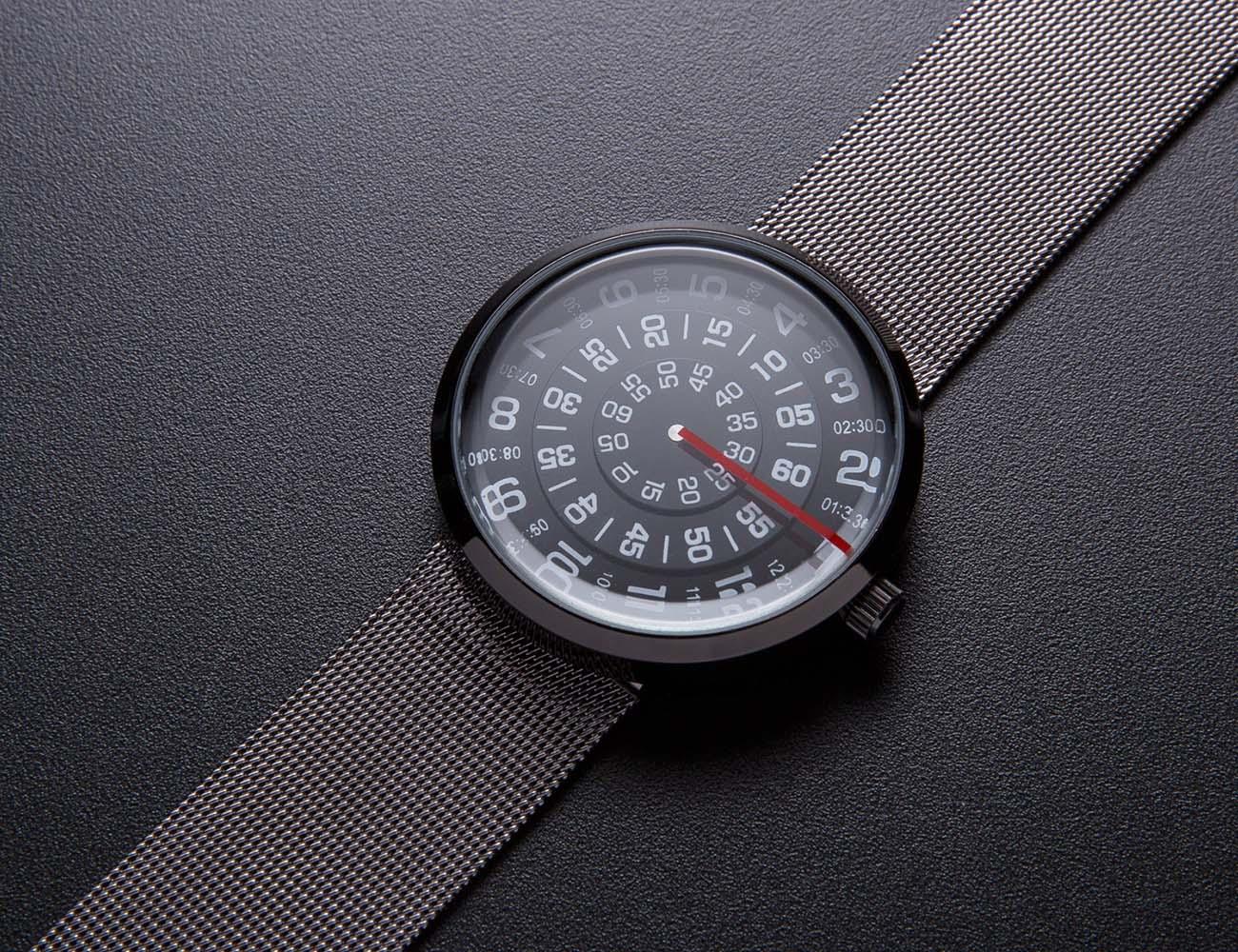 Futuristic watch by Mykonos design