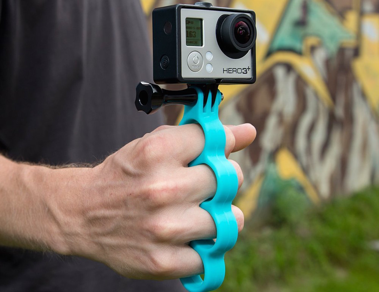 GoKnuckles – Handheld Mount for Your GoPro HERO Camera