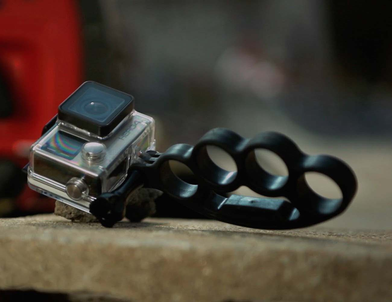 GoKnuckles – Handheld Mount for Your GoPro HERO Camera