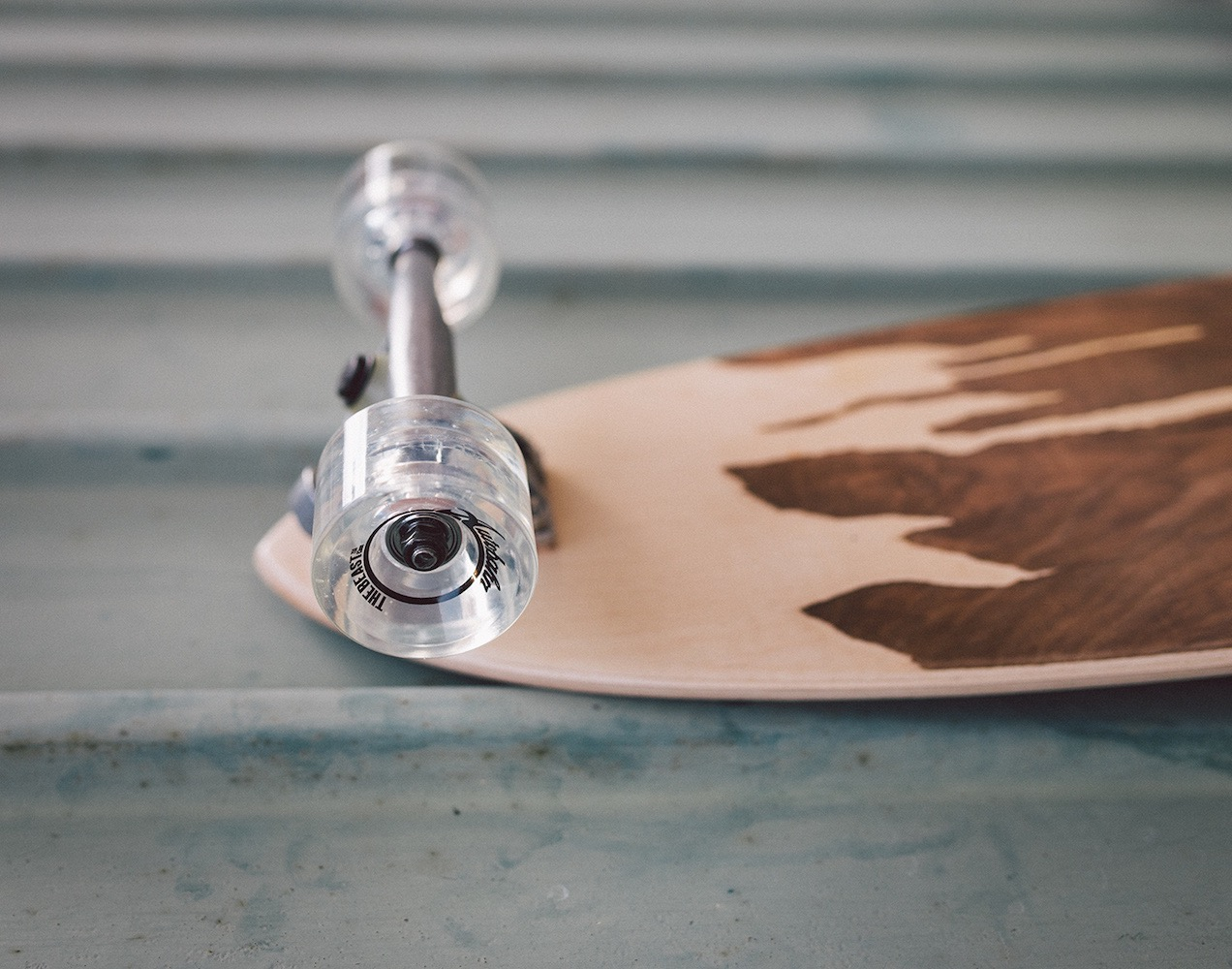 Handcrafted Wooden Skateboard by Murksli